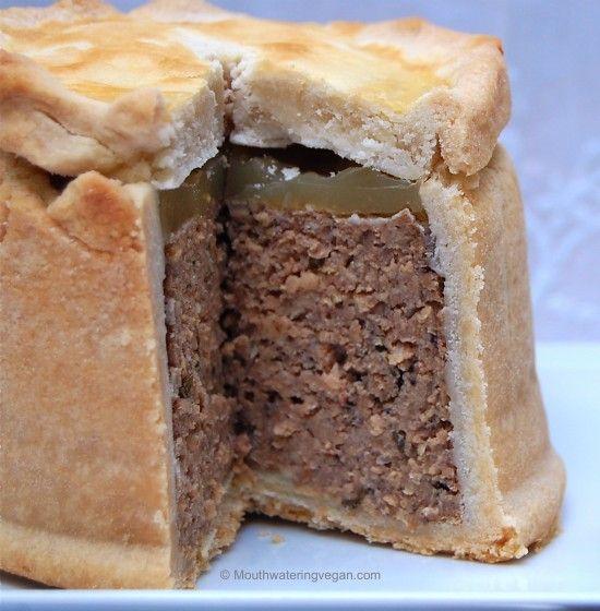 Vegan Traditional English Pork Pie