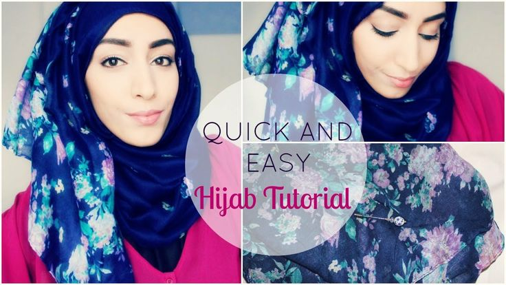 Quick and Easy Hijab Tutorial / Tutoriel Hijab facile et rapide