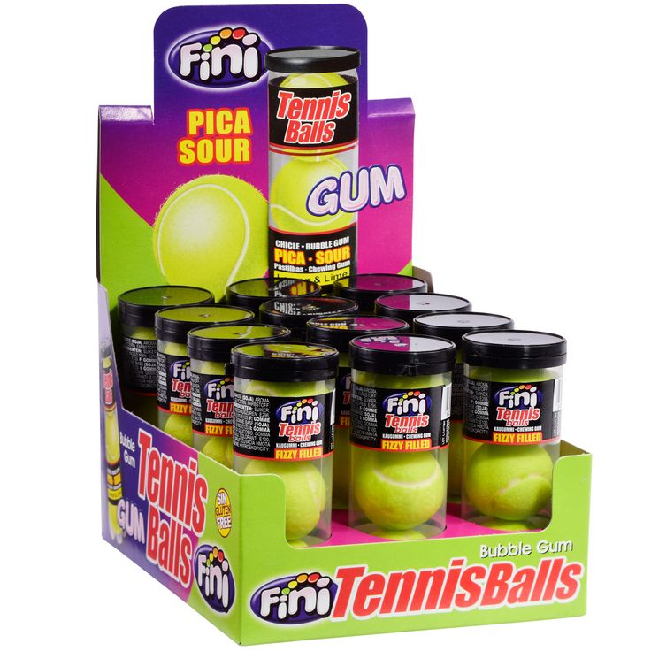 Fini Tennis Balls 3er   Online kaufen im World of Sweets Shop