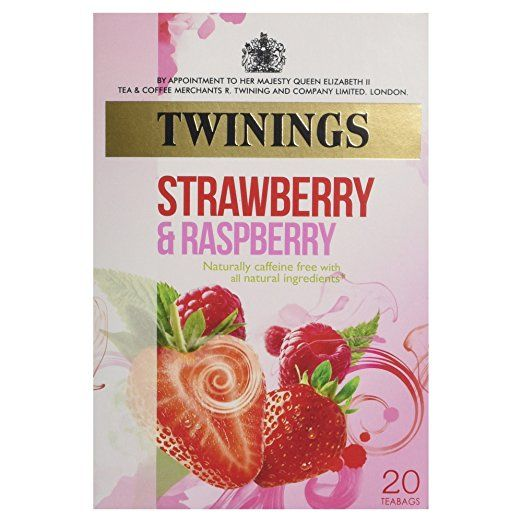 The new Tea of the Week is: Twinings Strawberry Raspberry Infusion