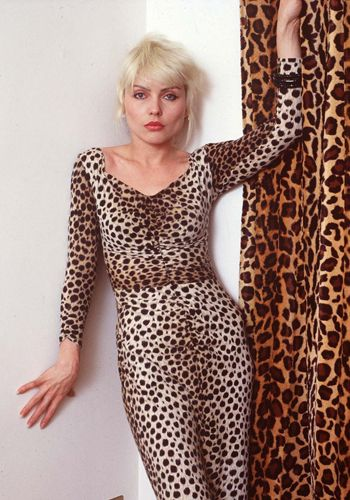 Looking good as always, Debbie isn't afraid to rock this bold leopard print dress. With her confidence and attitude, she could pull just about anything off! #modcloth #styleicon