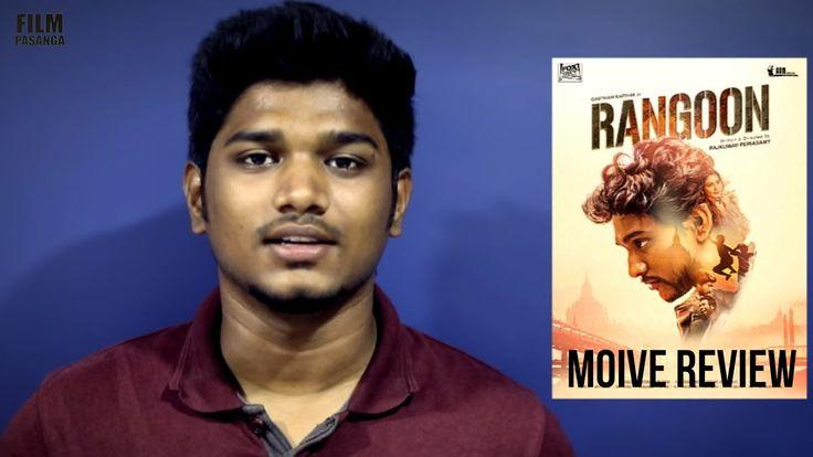 Rangoon Movie Rapid Review | Gautham Karthik | Sana | Rajkumar Periyasamy | Film Pasanga |Rangoon Movie Review ! Rangoon Tamil Movie is a action crime drama film written and directed by Rajkumar Periasamy and produced by AR Murugadoss. sou... Check more at http://tamil.swengen.com/rangoon-movie-rapid-review-gautham-karthik-sana-rajkumar-periyasamy-film-pasanga/