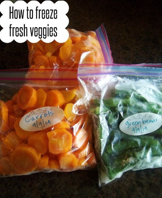 Do you have an overabundance of fresh veggies? You need to know how to freeze fresh veggies! Here is a step by step guide on how to freeze fresh veggies.
