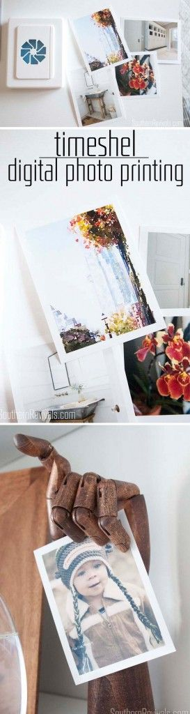 timeshel | Digital Photo Printing Services + easy DIY photo frame ideas. Don't let your photos get lost in cyberspace. Print them and enjoy them! #timeshelprints #PMedia #ad