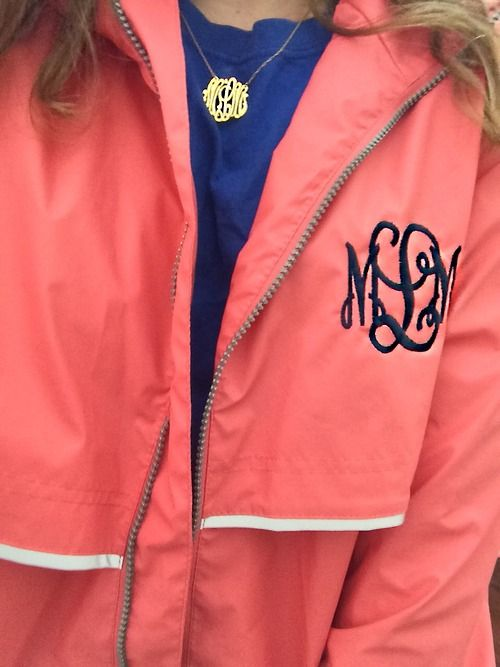 Can order from Marley Lilly! Want exact color of jacket and monogram color!