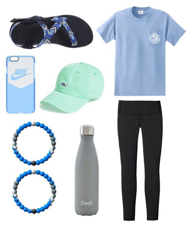 shark week lokai by carlaur on Polyvore featuring polyvore fashion style Patagonia Chaco NIKE Vineyard Vines S'well clothing