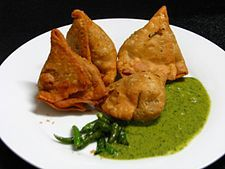 Samosa.. a favourite and great street snack.. Competition to the Frikandel anyday