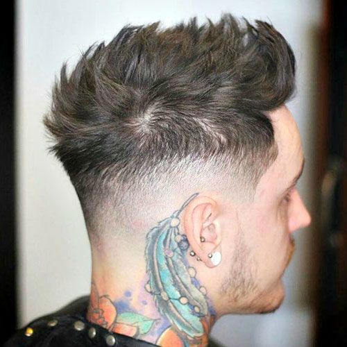 High Taper Fade with Quiff                                                                                                                                                                                 More