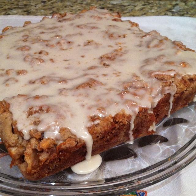 Vegan Chef Chloe's Iced Apple Cake! Yummy!