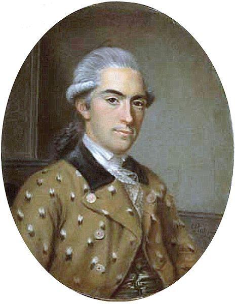 mens 18th century portraits hair - Google Search