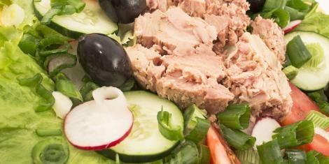 Recepten met tonijn, terrine van tonijn, tonijnsalade, cake van tonijn, e-gezondheid.be | Drupal