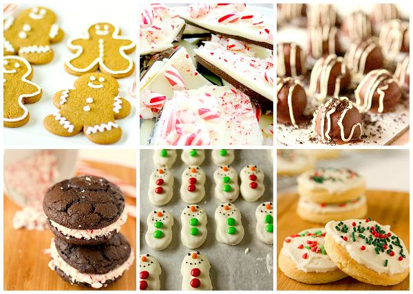 120 Christmas Cookies & Holiday Recipes on www.browneyedbaker.com #Christmas  #cookies #recipes