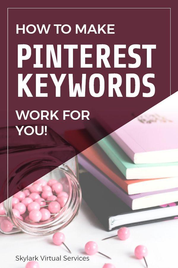 Pinterest Keywords – Wie man sie für Sie arbeiten lässt