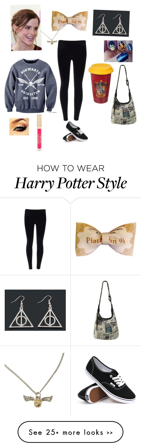 """Rian's Harry Potter"" by luna1116 on Polyvore"