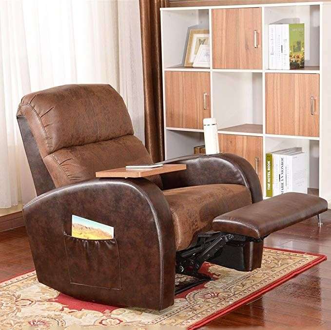Soges Luxurious Manual Recliner Chair Lounge Sofa Home Theater Chair Living Room Chair Brown 535 Br X Review Sofa Home Living Room Chairs Recliner Chair #reclining #chair #living #room
