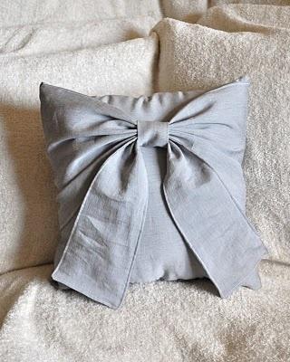 BedBuggs--ribbon pillow