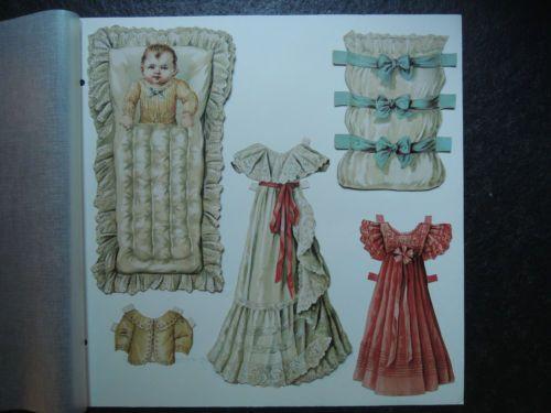 Old-módní panenky W12 Původní Paper Doll-old-paper-panenka cut-out