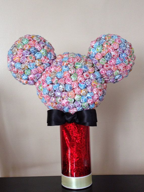 Minnie Mouse or Mickey Mouse Dum Dum lollipop by