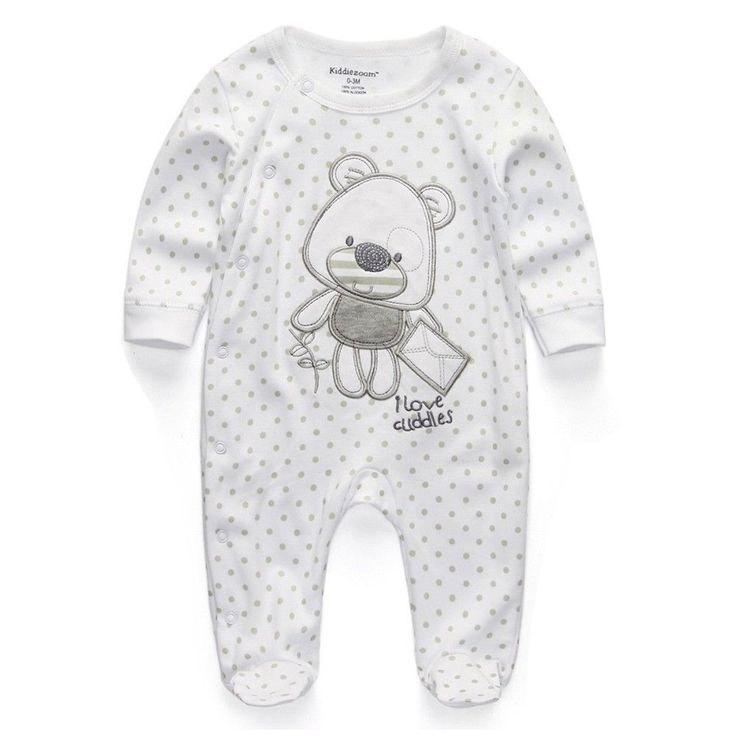 Baby Clothing 2018 New Baby Boy Girl Romper Clothes Long Sleeve Infant Product #kiddiezoom #DressyEverydayHoliday