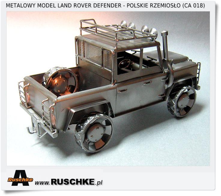Land Rover defender model metalwork craft Poland