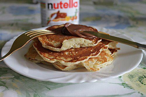 pancakes and nutella :)   favorites   Pinterest