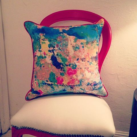 Megan Weston Art -pillow