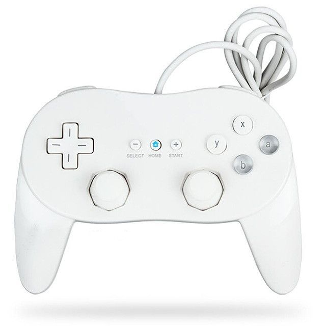Hot Selling Classic Wired Game Controller Gaming Remote Pro Gamepad Shock Joypad Joystick For Nintendo Wii Second-generation