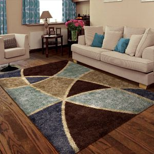 Orian Divulge Shag Area Rug Brown Rugs Area Rugs