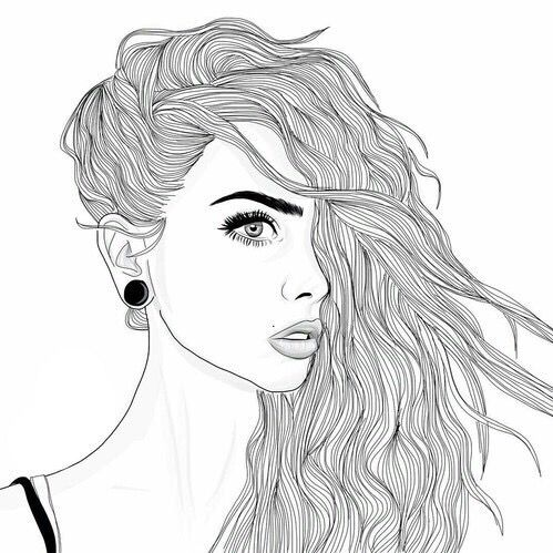 25 best ideas about girl sketch on pinterest drawing