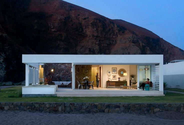 House built on a privileged site facing the Pacific Ocean - CAANdesign | Architecture and home design blog