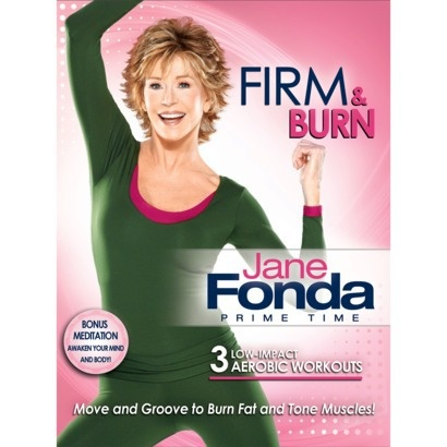 Jane Fonda Prime Time Firm & Burn Aerobic Workout DVD.  I LOVED the step aerobics vhs tape she had, I need to find this!
