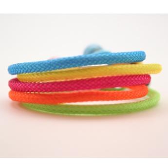 Conjunto de Pulseras Maa colección Smile colores Flúor  http://www.tutunca.es/pulsera-maa-smile-naranja-fluor#