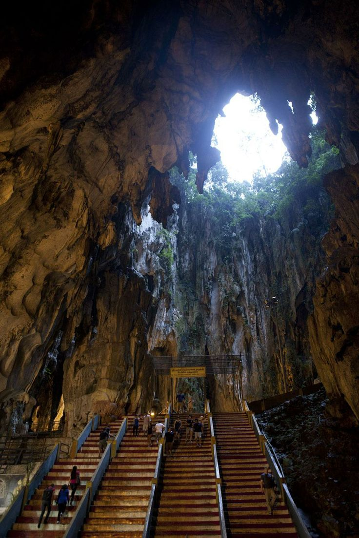 Interior of the #Batu #Caves in #Malaysia  More photo, stories and dispatches from Malaysia: http://www.opxpeditions.com/malaysia/gallery