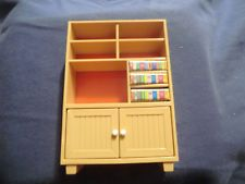 Vintage Tomy Bookcase Entertainment Center
