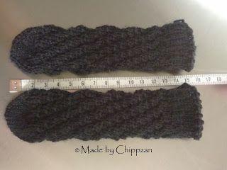 Made by Chippzan: Enkla baby sockor - gratis mönster