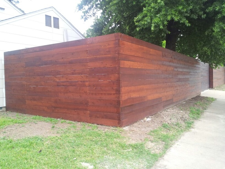 17 best images about fences on pinterest concrete walls for Cedar decks pros and cons