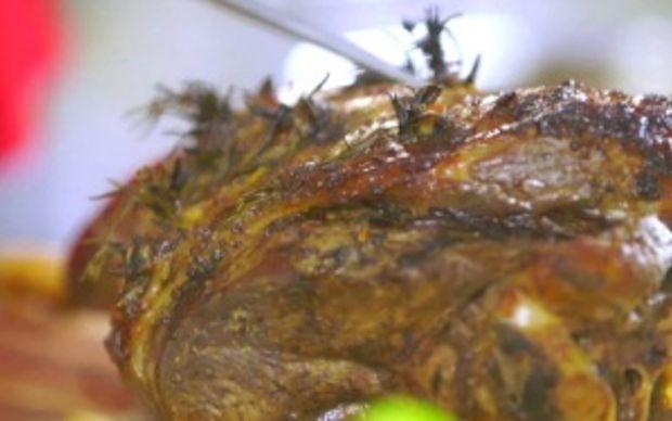 Slow Roast Lamb Recipe by Siba Mtongana