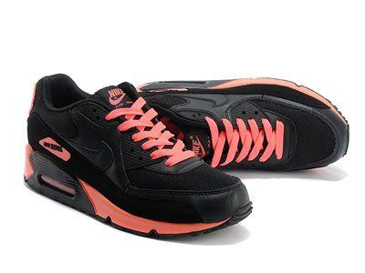 nike air max 90 online svart rosa joggesko for herre 467.89kr