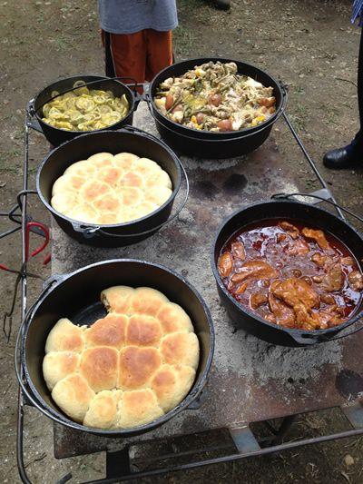 Dutch Oven Feast