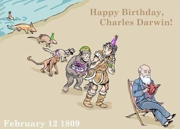Darwins fucking path