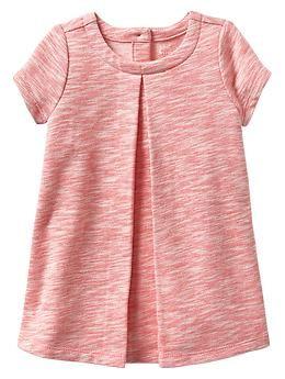 Paddington Bear™ for babyGap marled knit pleat dress | Baby Gap