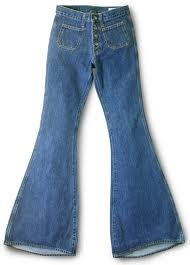 bell bottoms - sometimes embroidered - woo hoo!