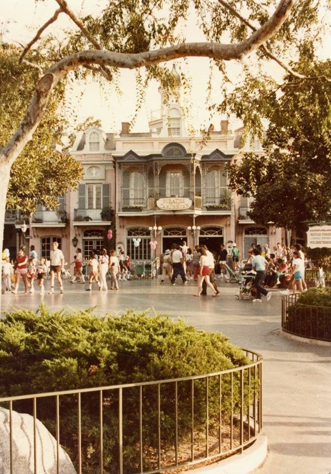 Pirates of the Caribbean at Disneyland. The ride opened March 18, 1967