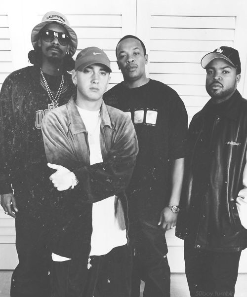 ases del rap   #Snoop, Slim Shady #Eminem, Dr Dre, Ice Cube