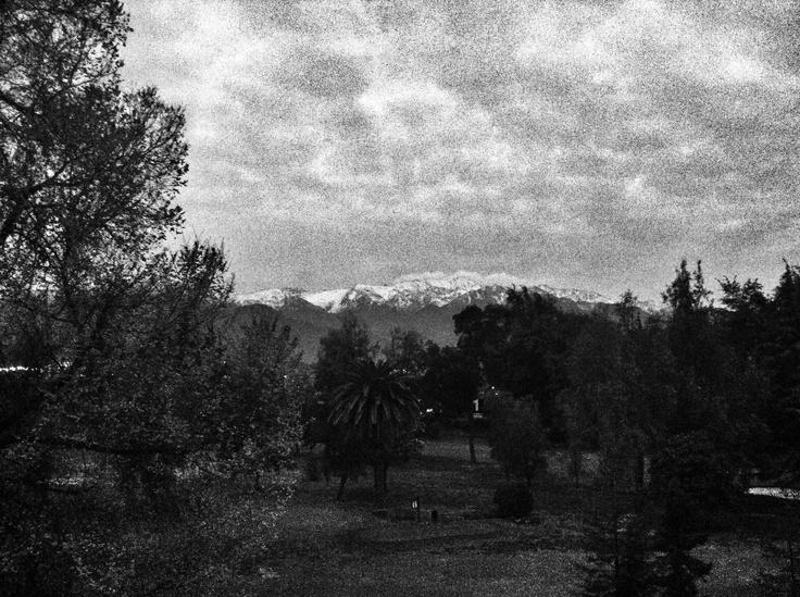Anochecer en Santiago