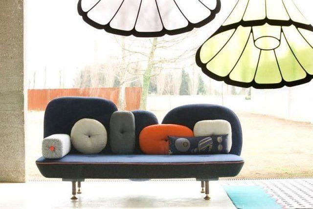 Meuble de salon moderne 35 idées canapé et fauteuils design Deco
