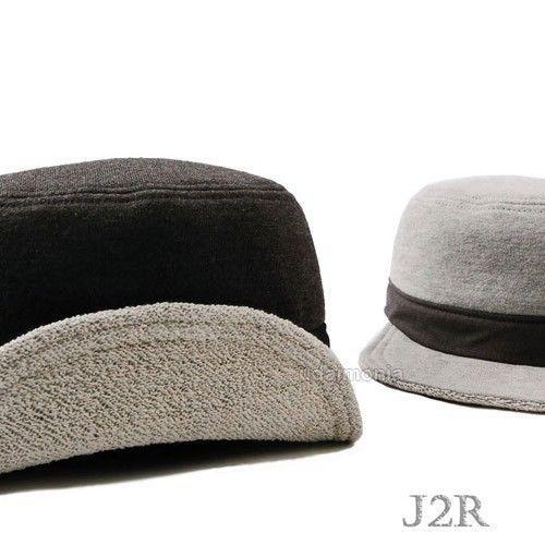 Tiltable Flat Brim Cadet Casual Military Army Hat Cap Unique Hats Size 7 1/8