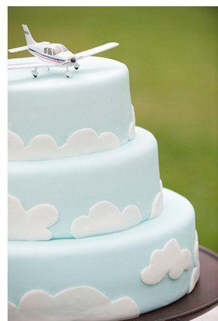 @Jena Howell cloud cake for Zachary's birthday!