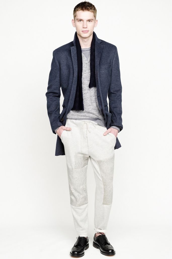 Our Ludlow topcoat in wool-cashmere.