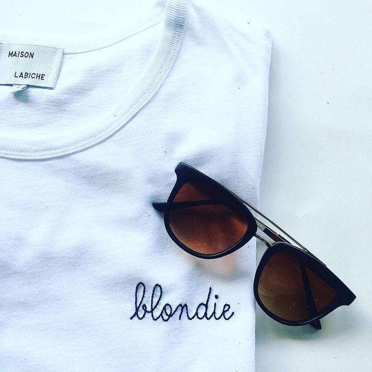 Tshirt blondie Maison Labiche dispo ici : http://et.unclejeans.com/dynclick/unclejeans-com/?ept-publisher=pinterest&ept-name=pinterest-cm&ept-mediaplan=COMMUNITY_MANAGEMENT&eurl=http%3A%2F%2Fwww.unclejeans.com%2Fp%2Ftee-shirt-maison-labiche-blondie-blanc-femme.html